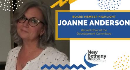 Board Member Spotlight – Joanne Anderson