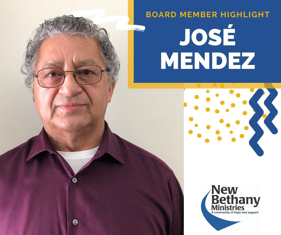 Board Member Highlight – José Mendez