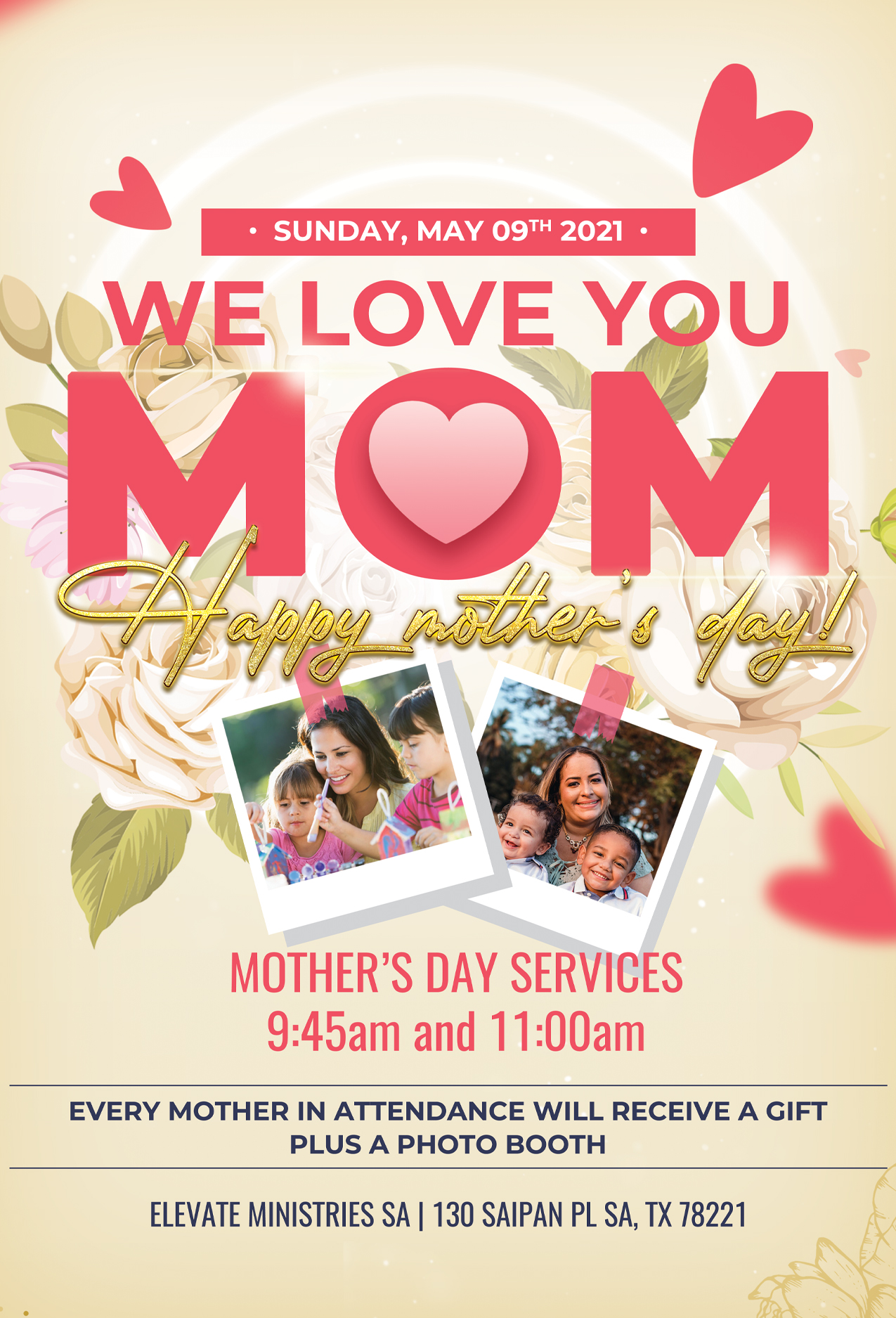 MOTHER'S DAY PROMO 2021
