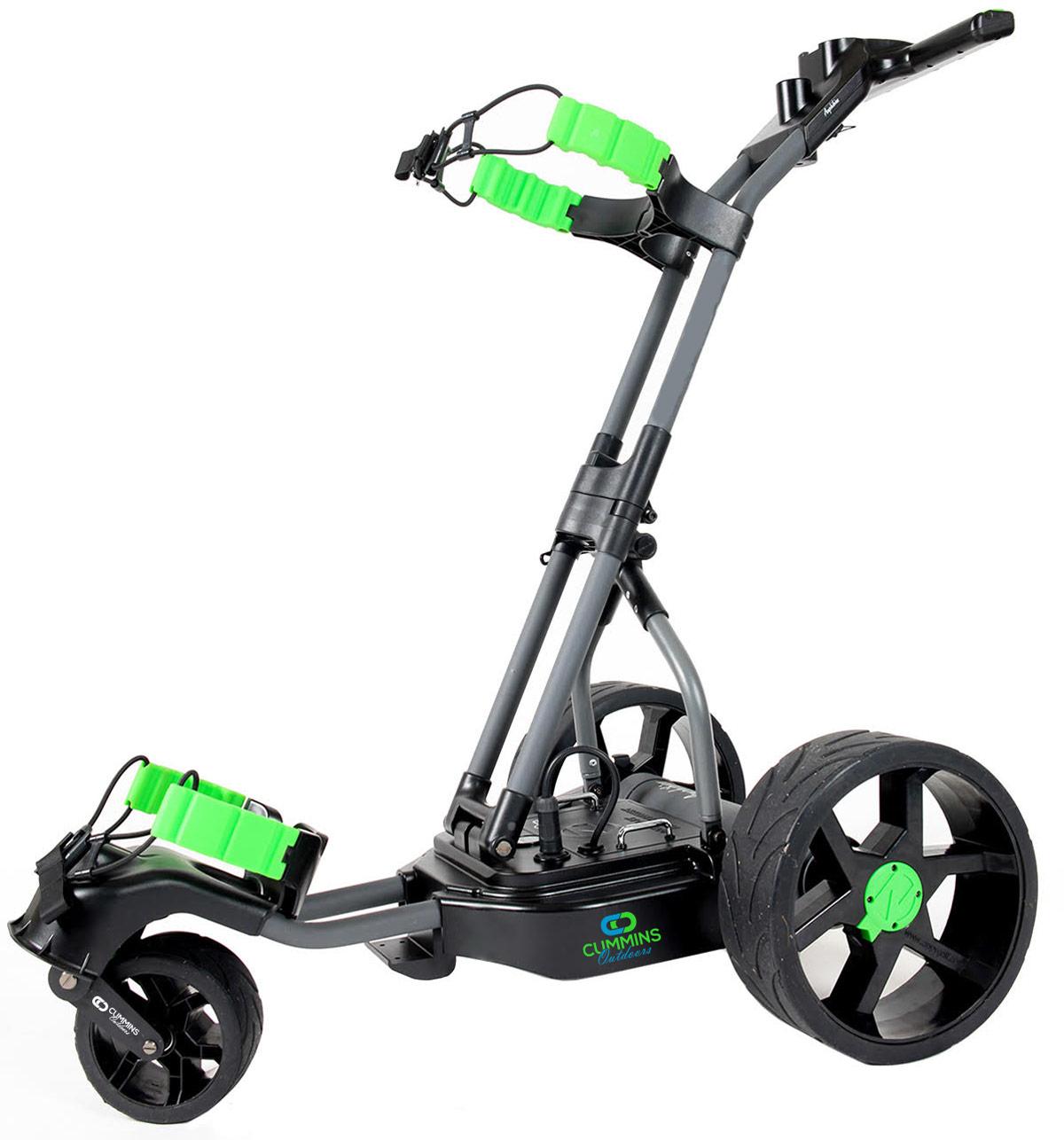 The Alligator 100% Waterproof Electric Remote-Control Golf Caddie