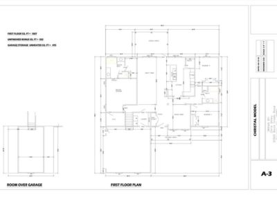 Christal floor plan