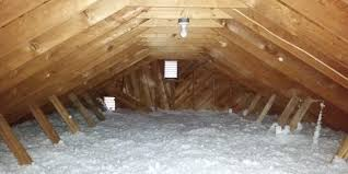 Attic Insulation has a Tough Job