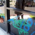 Anti Graffiti Film acts as a sacrificial layer if vandals strike - the transparent film can be peeled away quickly and inexpensively along with the graffiti.