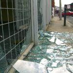 Earthquakes are a common cause of broken windows.  Security window film strengthens the glass and helps to keep broken glass together, thus protecting against dangerous flying glass and broken shards.
