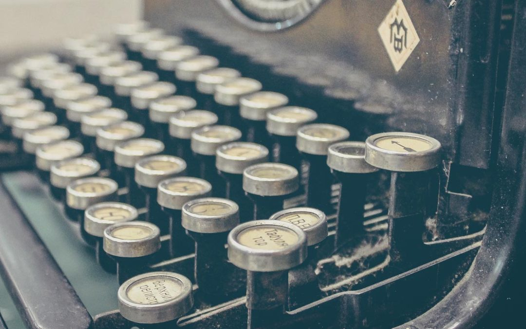 My creative writing process