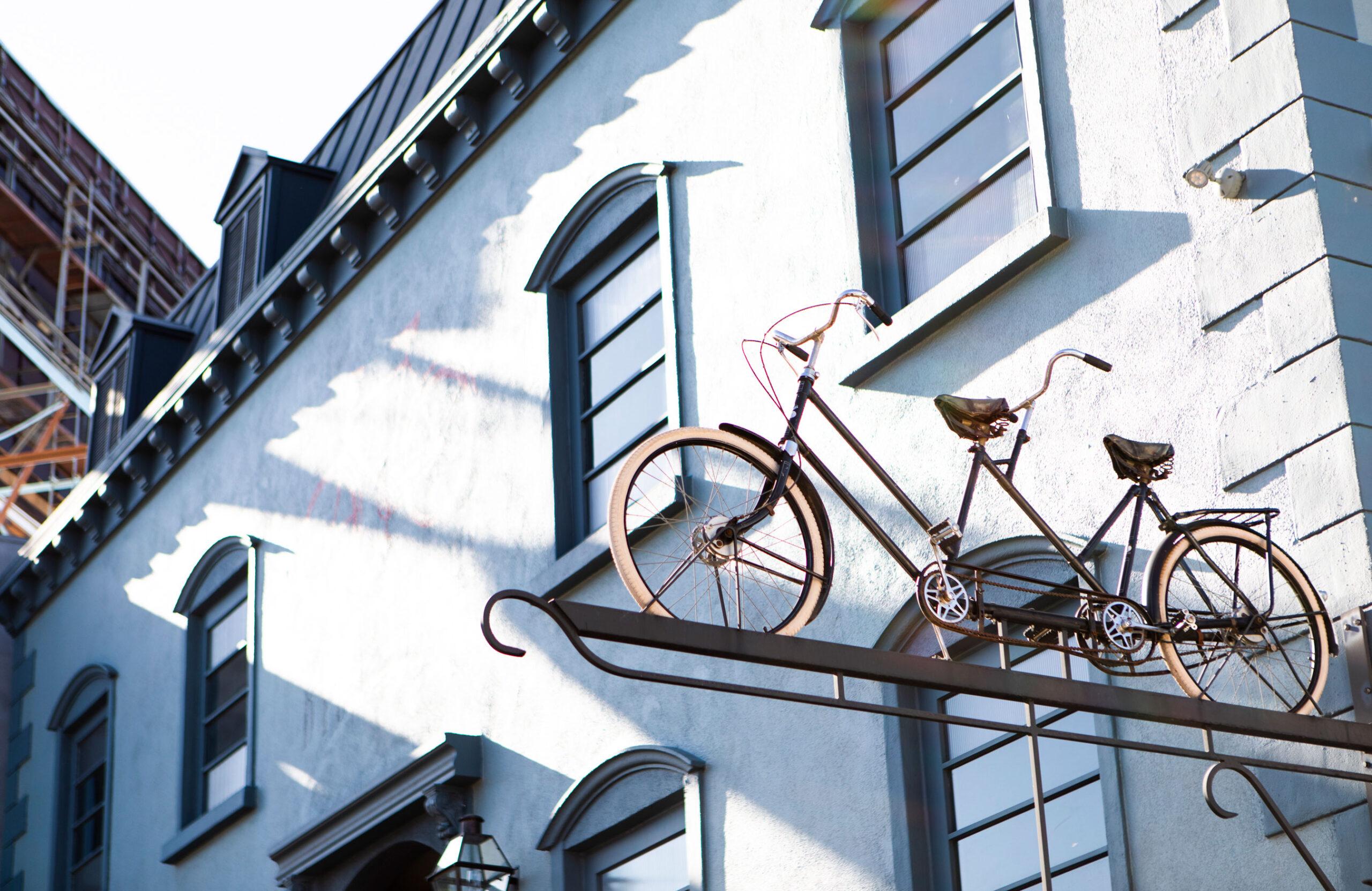 bicyclette-tandem-bike-exterior