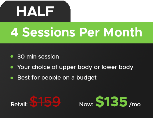 Stretchly Stretch Session Pricing