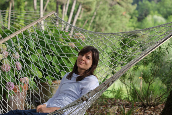Jessica at Villa Benvenuti, Tuscany, Italy June 2012