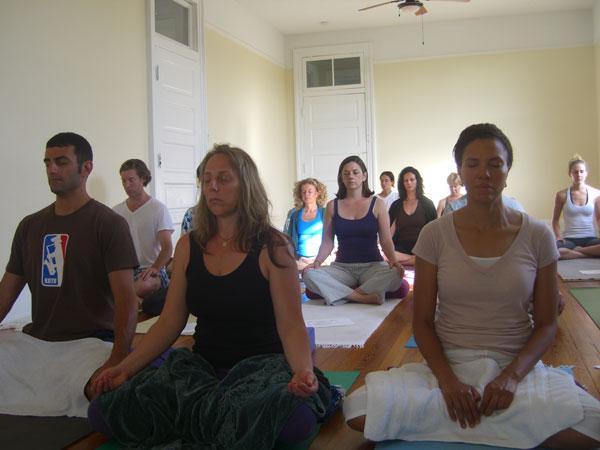 sitting-meditation; Balance Yoga & Wellness