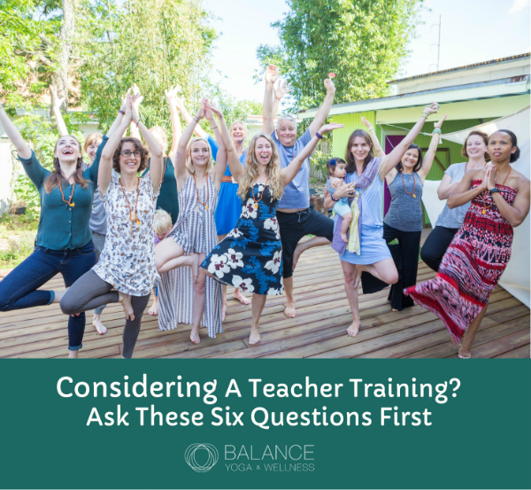 Yoga Teacher Training Balance Yoga Wellness