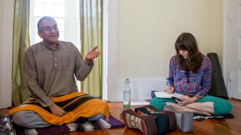 Photo Sudhir Tiwari Pranayama Workshop