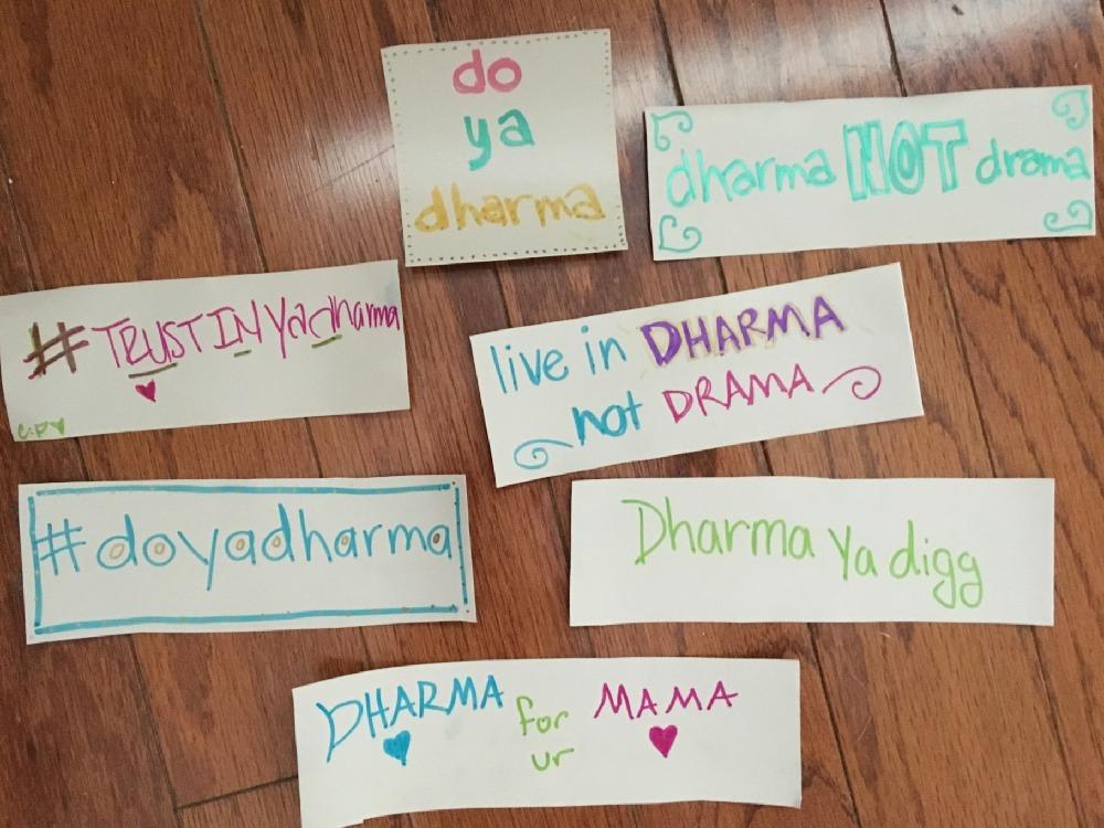 Do Your Dharma
