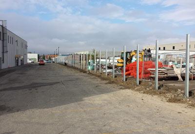 commercial iron fences