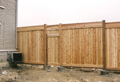 Commercial Wood Fences