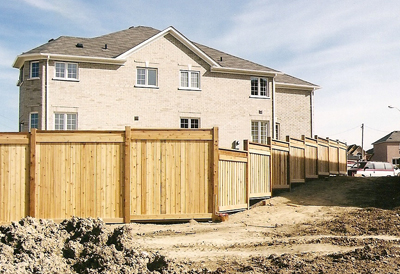 commercial wooden fences