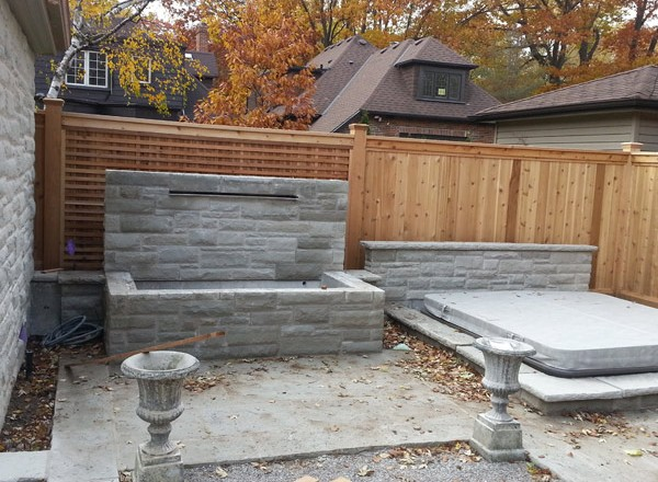 residential fence by Total fence Inc.