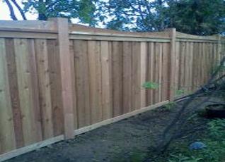 residential wood fences GTA