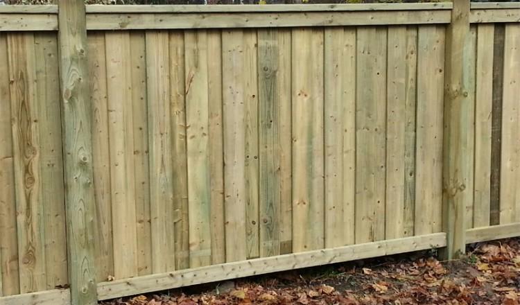 residential wood fencing GTA