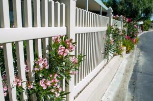 Vinyl Fencing on Older home