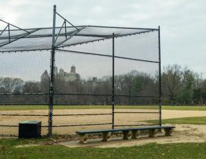 chain-link fence for basebal