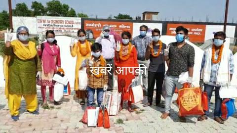 Eight winners of Corona including GNM, cleaning worker of Aara Sadar Hospital