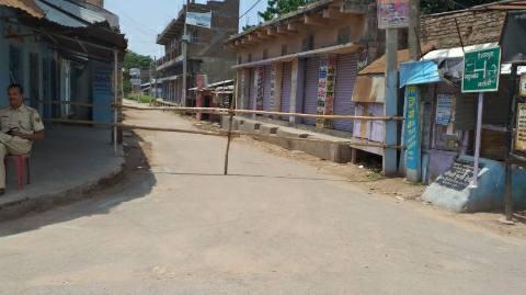 karnamepur bajar containment zone