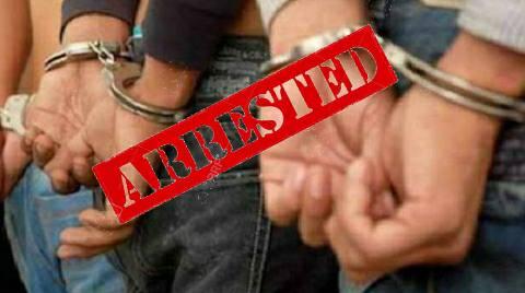 आरा में 28 लीटर महुआ शराब के साथ तीन गिरफ्तार
