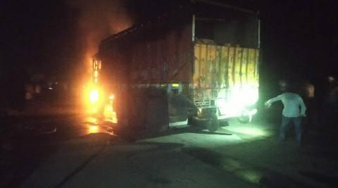 Truck-fire