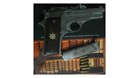 Two crooks with weapons arrested in Bhojpur