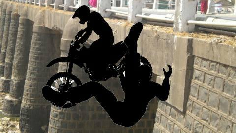 भोजपुर में पुल के नीचे गिरी अनियंत्रित बाइक- एक की मौत-दूसरा घायल