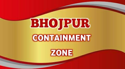 भोजपुर जिले में कुल 156 कंटेनमेंट जोन का हुआ निर्धारण