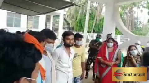 धांधली के खिलाफ प्रदर्शन में पुलिस ने भेजा जेल