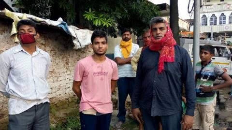 भोजपुर में ठनका गिरने से किसान की मौत- घर में कोहराम