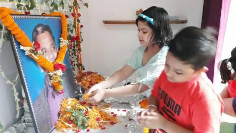 आरा में हरदिल अजीज समाजसेवी मुन्ना साईं की चौथी पुण्यतिथि मनी