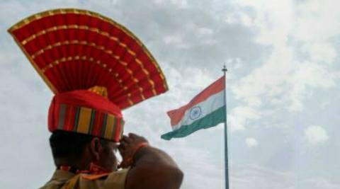 Flag-salute