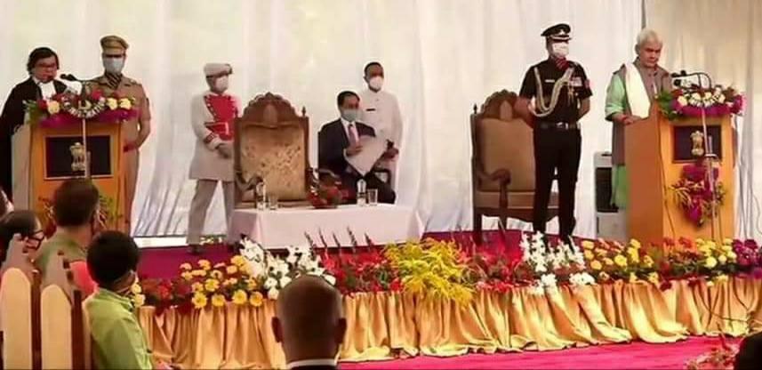 मनोज सिन्हा के जम्मू कश्मीर के उप राज्यपाल बनने पर बधाई