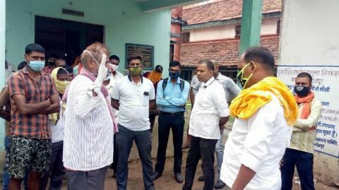 भोजपुर में बीमारी से बीएमपी जवान की मौत