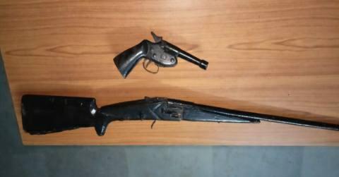 Fuha-Barhra-Bhojpur-weapon
