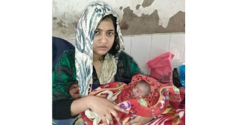 Bhojpur-RJD-youth-leader-wife-child-girl.jpg