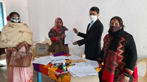 Agarsanda Panchayat-Selection of child development project sevika