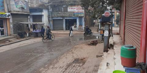 Ara city sees rain in winter