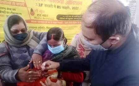 DM launched Pulse Polio campaign