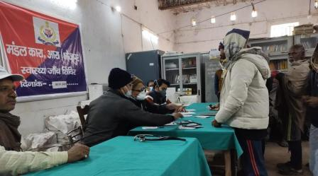 Medical camp organized in Ara jail