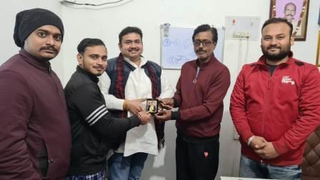 Ara young businessman Prem Pankaj Lalan honored