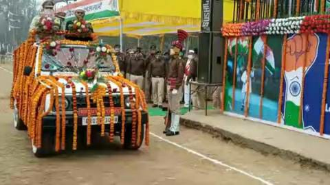 72nd Republic Day celebrations in Bhojpur