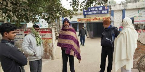 Sandesh Chowk - Truck crushed youth riding bike