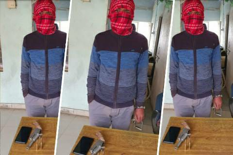 Saurabh Gully, a member of Deepak Pandey gang arrested