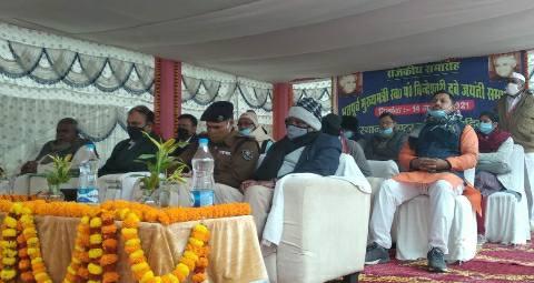 State function in Bihiya - Former Chief Minister Pandit Bindeshwari Dubey