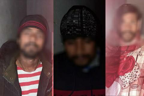 January 3: Three crooks of Gajrajangaj robbery arrested