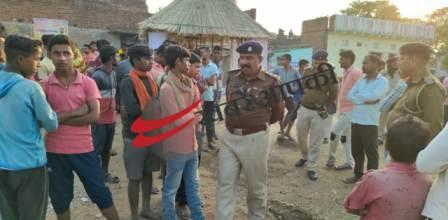 Bairahi - Today, a young man was shot in a porn song dispute in Murthy immersion